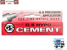 GS Hypo Cement Craft Adhesive Precision Needle Tip Genuine USA Glue UK Seller
