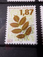 FRANCE, 1996 timbre PREOBLITERE 236, FEUILLES ARBRES, neuf**, VF MNH STAMP, LEAF