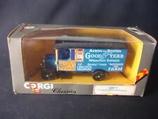Corgi Goodyear Wingfoot Express Akron To Boston Lincoln Highway Toy Truck W/ Box