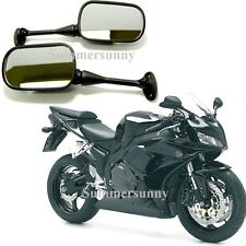 FOR 2003-2012 Honda CBR 600 RR / 1000RR 2004-2006 Black MOTORCYCLE MIRRORS NEW