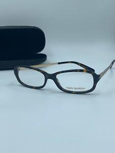 NEW Tory Burch TY 2029 510 Eyeglasses Frames Glasses Brown Tortoise 53-15-135