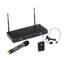 SOUNDSATION WF-U2600HP Radiomicrofono Doppio UHF / Palmare / Archetto
