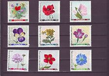 POLAND - SG1761-1769 MNH 1967 FLOWERS OF THE MEADOW