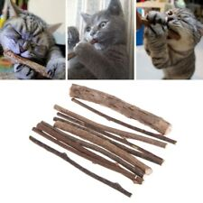 10 Pcs Natural Polygonum Stick Catnip Cat Toys Cleaning Teeth Pure Molar Snacks