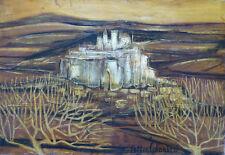 Alice COLONIEU (1924-2010) HsT / Années 60 / Jeune peinture Ecole provençale