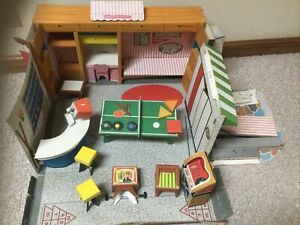 1960's Tammy's Soda Shoppe Cardboard Ideal Toy AS IS VERY RARE #9702