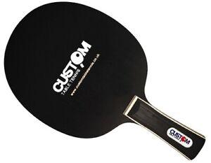 Custom Table Tennis Black Mamba Carbon Table Tennis Blade Fast Free UK Post New