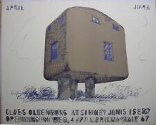 Claes Oldenburg (1929) English Plug Offset-Litho Plakat Sidney 1967