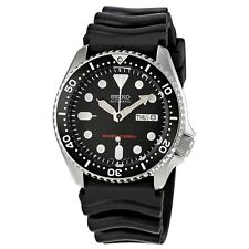 SEIKO SKX007K1 Analog Automatic Black Dial Black Rubber 200m Diver's Men's Watch