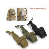 Outdoor Bottle Bag Tactical Military Water Kettle Pouch Holder Hiking Camp SS3