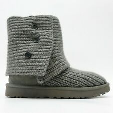 UGG Womens Cardy Slouchy Sweater Warm Winter Boots Shoes US 7 EU 38