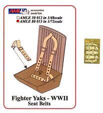 AML Models 1/72 SOVIET YAK FIGHTERS SEAT BELTS Photo Etch Set