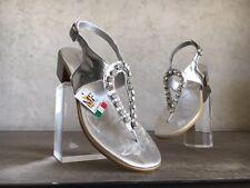 infradito gioiello MERCANTE DI FIORE infraditi positano strass svawroski sandalo