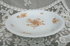 Old Vintage Narumi Excelsior 12-1/4 Round Serving Platter Summer Gold 5447 Japan