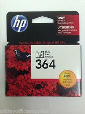 HP 364 Photo Black Ink Cartridge Ref CB317EE - HP364 Photo Black Ink