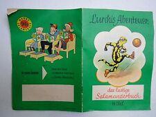 Lurchis Abenteuer 14. Teil 1. Auflage 1959 Das lustige Salamanderbuch Lurchi