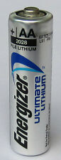 4PC Energizer Ultimate Lithium L91 AA High-Energy Battery L91-VP Bulk, USA Made