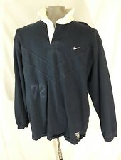 Nike Polo Rugby Eagle Crest Shirt (19)72 Organic Cotton, Soccer, Goalie XL/TG