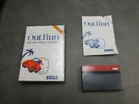 Out Run (Sega Master, 1987) Complete in Box - CIB