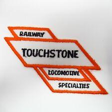 "Vintage Patch - Touchstone - ""Railway & Locomotive Specialties"" - Collectible"