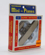sz 1/100 Bachmann Mini-Planes #37 Historic Wright Brothers Kitty Hawk Airplane