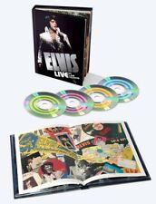 COFFRET 4 CDS / ELVIS PRESLEY -LIVE IN LAS VEGAS -SONY BMG-2015 -NEUF / NEW