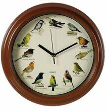 Singing Bird Clock - Birds Play Different Tunes - Fun Novelty Gift