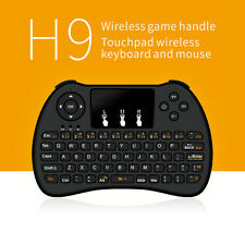 Wireless 2.4Ghz Mini Keyboard Mouse Remote Backlit Für Smart TV Pi PC Android