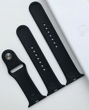 GENUINE APPLE WATCH SPORT BAND STRAP 42mm/44mm BLACK