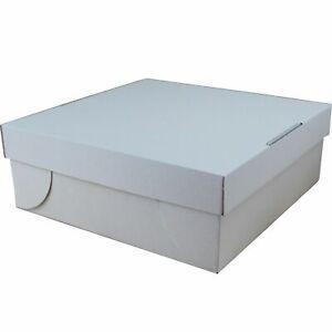 50 Stk. Tortenkarton Kuchenkarton 32x32x12cm Tortenkartons Stabile Verpackung