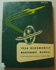 1954 OLDSMOBILE SHOP MAINTENANCE SHOP MANUAL 88 SUPER 88 98 OEM