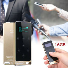 Portable TFT Screen Lossless MP3 Music Player recorder Full Metal 16G Gold CB