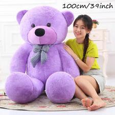 100cm/39inch Latest Giant Big Plush Stuffed Teddy Bear Huge Soft 100% Cotton Toy