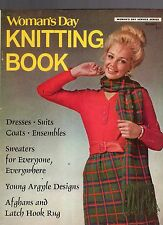 1970 WOMAN'S DAY KNITTING BOOK MAGAZINE-NUMBER 11-DRESSES-SUITS-COATS-ENSEMBLES