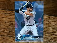 Tommy Pham Rays 2018 Topps Update FATHER'S DAY BLUE #233 (#d 44/50)