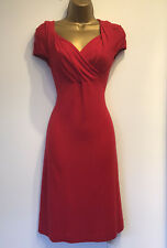VIVIENNE WESTWOOD Red Fit & Flare Dress Size S 8 10 NEW With TAGS £310