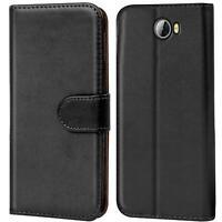 Book Case für Huawei Y5 II 2 Hülle Flip Cover Handy Tasche Schutz Hülle Schale