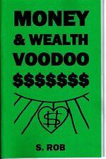 MONEY & WEALTH VOODOO book occult magick wichcraft money spells