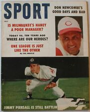 July 1959 Sport Magazine Jimmy Piersall Cleveland Indians Cover