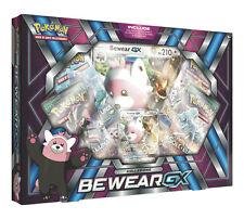 Box Pokemon SET BEWEAR GX con carta Bewear GX + Carta Gigante + 4 Buste ITA
