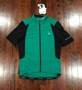 NWT$80 MENS PEARL IZUMI 2017 SELECT PURSUIT CYCLING JERSEY GREEN