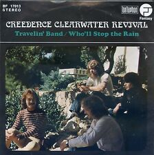 7inch CREEDENCE CLEARWATER REVIVAL travelin band GERMAN EX+  +PS