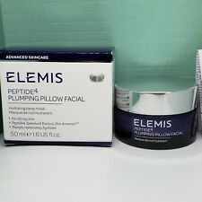 Elemis Peptide 4 Plumping Pillow Facial Sleep Mask - Full Size 1.6 oz New in Box