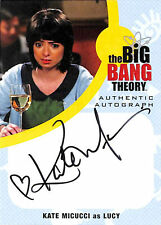 BIG BANG THEORY - SEA 6&7 - KATE MICUCCI as LUCY Auto - KM1 - BV$100 - NrMt
