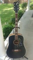 Vintage Rare 1950/60's National Blacktop Acoustic Guitar