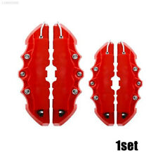 4Pc Red 3D Brake Caliper Covers Style Disc Universal Car Front Rear Kits