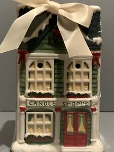 Brand New//Sealed Yankee Candle Candle Shoppe Christmas Tart Warmer w/Tarts