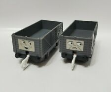 SET OF (2) TROUBLESOME TRUCKS - THOMAS TRAIN & FRIENDS TRACKMASTER