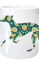 Greyhound Dog Mug Gift Dog Art Birthday Gift Xmas Gift % to Greyhound Charity