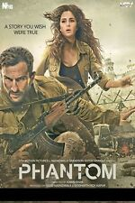 Phantom (2015) - Saif Ali Khan, Katrina Kaif - bollywood hindi movie dvd
